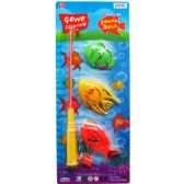 96 Units of GONE FISHING PLAY SET WITH ROD ON CARD - Toy Sets