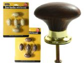 96 Units of 5pc Door & Cabinet Handle Knobs, Screws Included! - Hardware > Miscellaneous