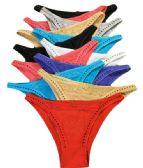 48 Units of Rose Lady's Cotton Bikini- Size Large - Womens Panties & Underwear