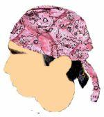 48 Units of Pink Pasiley. Bandana Caps - Bandanas