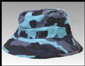 18 Units of Blue camo bucket hat - Bucket Hats