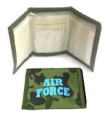 60 Units of Wallet - Air Force - Leather Wallets