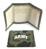 60 Units of Wallet - Army - Leather Wallets