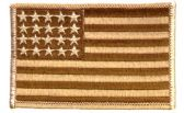 36 Units of **AS IS*** Brown camo US flag with ***20 STARS ONLY - Flag