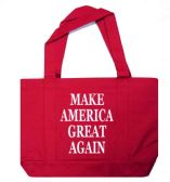 12 Units of Make America Great Again Tote Bags In Red - Tote Bags & Slings