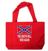 12 Units of Rebel Tote Bag In Red - Tote Bags & Slings