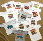 144 Units of A Printed Toddler Tees Lot - Boys T Shirts