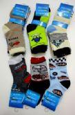 96 Units of Boys Socks - Boys Crew Sock