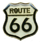 95 Units of Brass hat pin, ROUTE 66 Lapel pin - Sewing Supplies