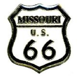 96 Units of Brass hat pin, Missouri - Route 66 - Sewing Supplies