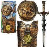 6 Units of 3 Piece Weapon Fight Armor Sets - TOY SETS