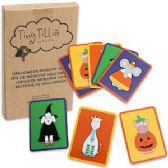 96 Units of Tiny Tilla Halloween Memory Match Games - Card Games