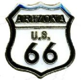 96 Units of Brass hat pin, Arizona - Route 66 - Sewing Supplies