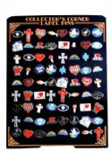 144 Units of 72 Piece hat pins unit, assorted religious designs(styles may vary) - Hat Pins / Jacket Pins