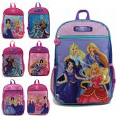 "24 Units of 15"" Character Backpacks in 9 Assorted Character Prints - Backpacks 15"" or Less"