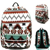 "24 Units of 17"" Kids Classic Padded Backpacks in AZTEC LT Print - Backpacks 17"""