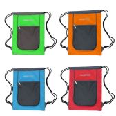 24 Units of Drawstring Bags in 4 Assorted Colors - Draw String & Sling Packs