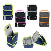 "24 Units of 10"" Roll Top Cooler Lunch Bag in 4 Assorted Colors - Lunch Bags & Accessories"