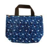 24 Units of Insulated Lunch Tote in Star Print - Lunch Bags & Accessories