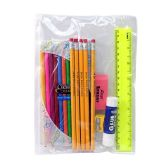 48 Units of 10 piece Kids School Supplies Kit - Notebooks