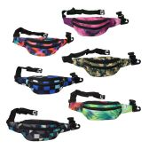 24 Units of Fanny Packs in 6 Assorted Digital Prints - Fanny Pack