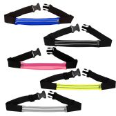 24 Units of Pocket Exercise Fanny Pack Belt Bag in 5 Assorted Colors - Fanny Pack