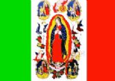 24 Units of 3' x 5' polyester flag, Our Lady of Guadalupe (color), with grommets - Flag