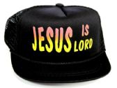 "24 Units of Infant Mesh Back ""JESUS IS LORD"" Hat in Assorted Colors - Baby Accessories"