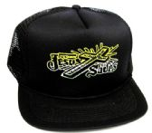"24 Units of Adult mesh back printed hat, ""JESUS SAVES"", assorted colors - Baseball Caps/Snap Backs"