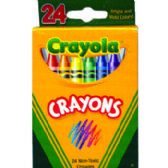 48 Units of Crayons - 24 Count - Chalk,Chalkboards,Crayons
