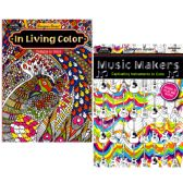 48 Units of Kappa Adult Coloring Book, assorted - Coloring Books