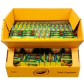 90 Units of Crayola Crayons - 24 Count - CHALK,CHALKBOARDS,CRAYONS
