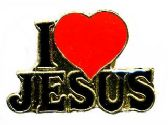 "96 Units of Brass Hat Pin, ""I (love) Jesus"", - Hat Pins / Jacket Pins"