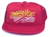 """36 Units of Infant """"JESUS SAVES"""" mesh hat in assorted colors - Baby Apparel"""