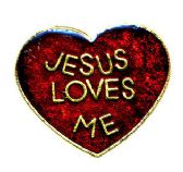 """96 Units of Brass Hat Pin, """"Jesus Loves Me - Hat Pins / Jacket Pins"""