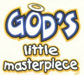 """24 Units of """"God's Little Masterpiece"""" printed on white shirts - Baby Apparel"""