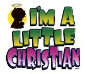 """24 Units of """"I'm a Little Christian"""" - printed on white shirts - Baby Apparel"""