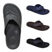 48 Units of Mens Assorted Color Flip flops - Mens Slippers
