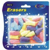 24 Units of Pencil Cap Erasers - 30 count - Erasers