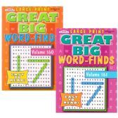 80 Units of Great Big Word Find - book - Crosswords, Dictionaries, Puzzle books