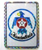 "96 Units of 3"" x 4"" decal, Thunderbirds - Stickers"