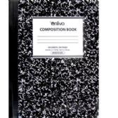 48 Units of Premium Black Composition Notebook - Wide Ruled - Notebooks