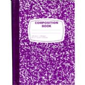 48 Units of Purple Composition Notebook - 100 Sheets - Notebooks