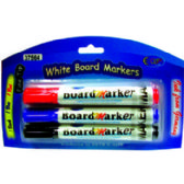 24 Units of Dry Erase Markers - Fine Tip - 3 pack. - Markers and Highlighters