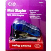 48 Units of Mini Stapler with 1000 staples set - Staples and Staplers