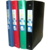 """48 Units of Flexible Poly Binder - 1"""" - Solid Colors - Binder"""