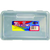 48 Units of Clear Pencil Box - Pencil Boxes & Pouches