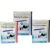 "36 Units of Poly Zip Envelopes - 10"" x 13"" - Envelopes"