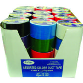 "48 Units of Duct Tape - Assorted 6 colors - 1.89""(2"") x 10 yards - Tape"