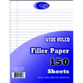 48 Units of Filler Paper Wide Ruled - 150 Sheets - PAPER